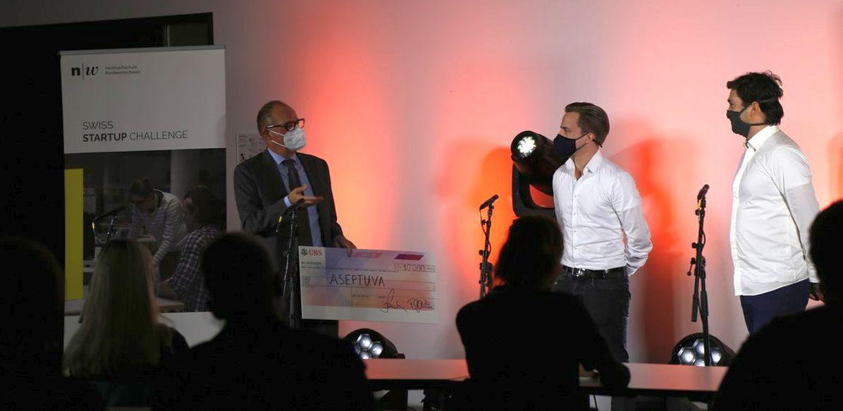 Aseptuva wins Swiss Startup Challenge