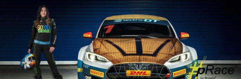 Bcomp race car