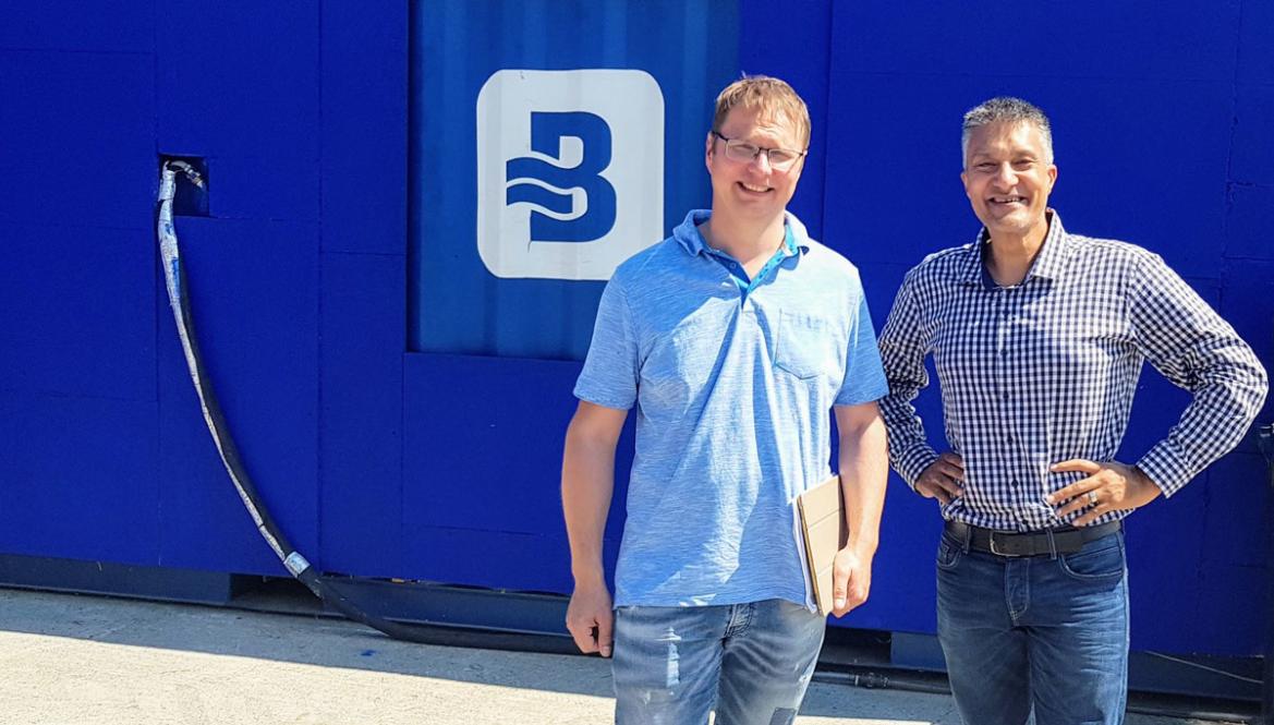 Jörn Ahlers (links) und David Din (rechts)