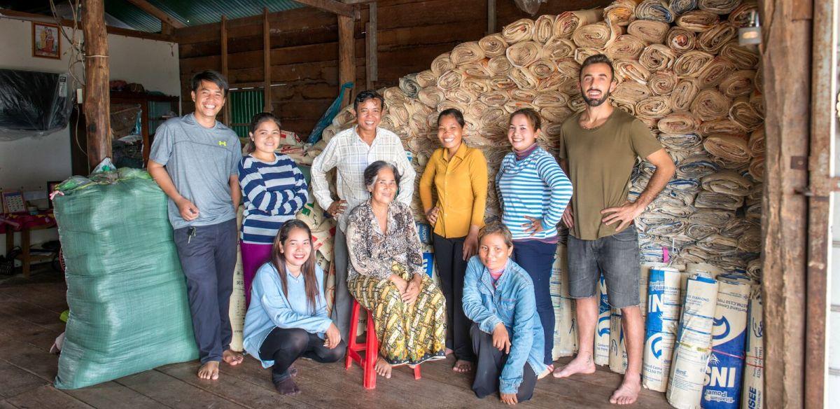 Produzenten in Kambodscha