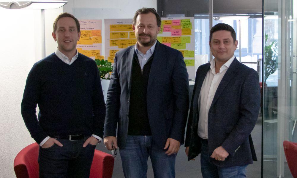 Sascha Horrig, Martin Gruber und Hermann Koch