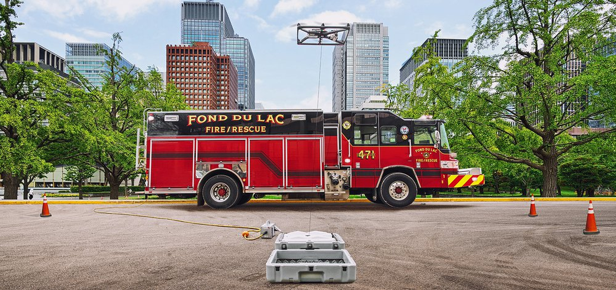 SIGMA on a fire truck