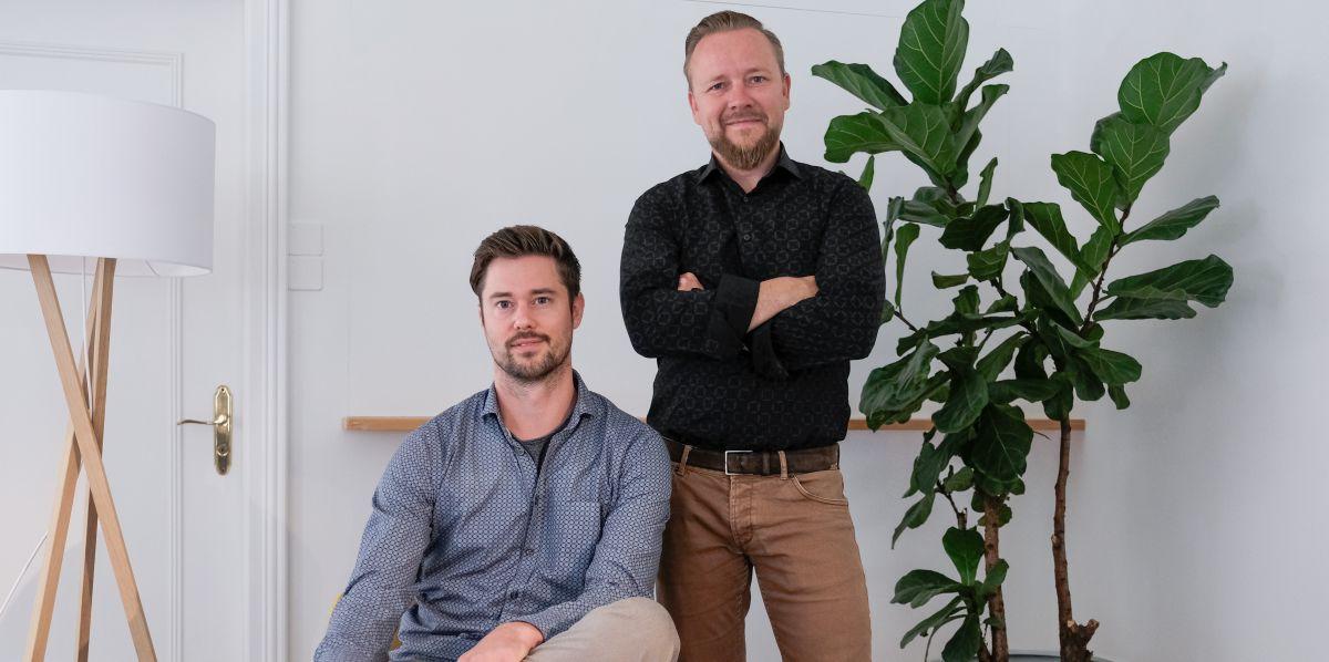 Andreas Fischler CEO und Roger Dudler CTO und Gründer