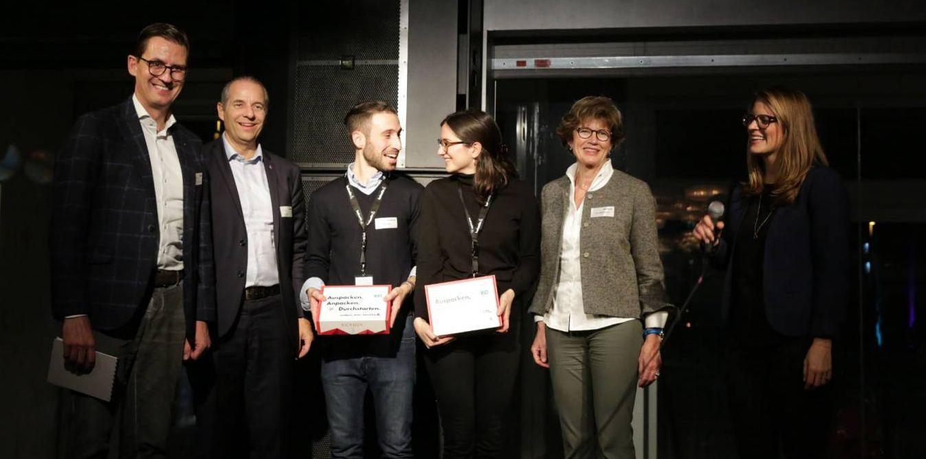 Gewinner der Helvetia Jubiläums-Kickbox