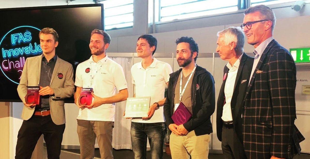 IFASinnovation Challenge winners
