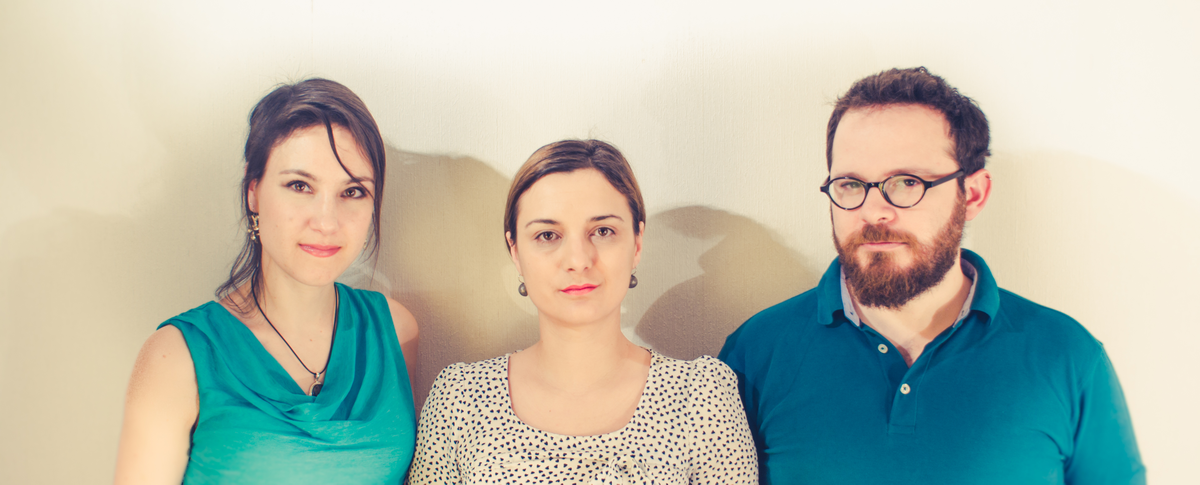 Ones Sky Team Mélanie Guittet, Cristina Mihalachioiu, Manu Lubrano.
