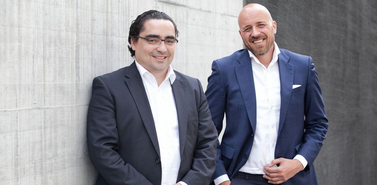 Alberto Rama (left) and Julian Köhler, Investment Navigator