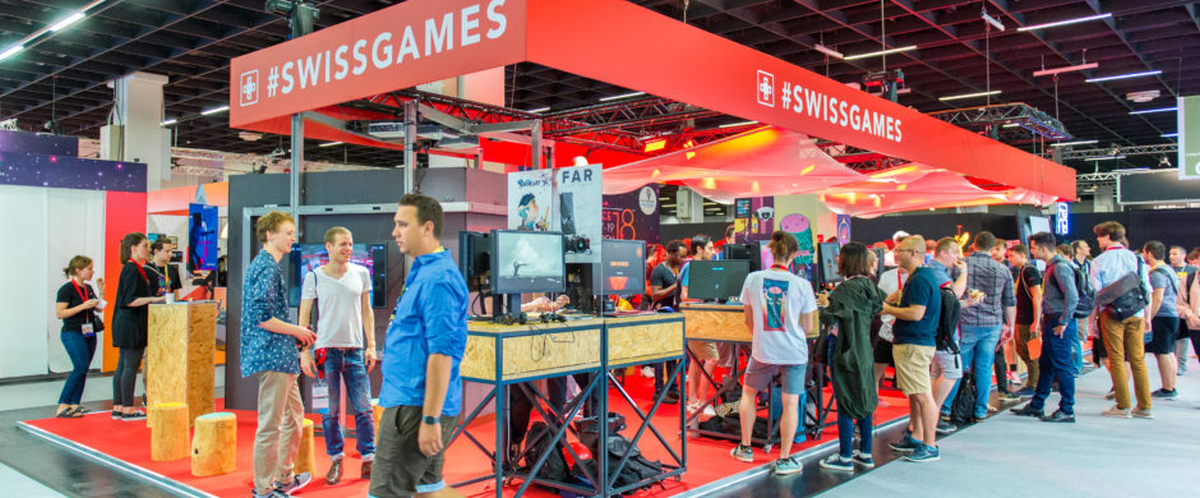 SWISSGAMES at GDC in San Francisco Startupticker ch | The