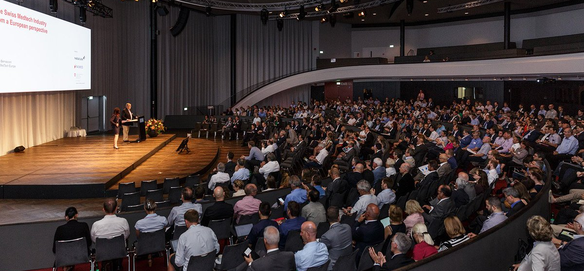 Swiss Medtech Day audience