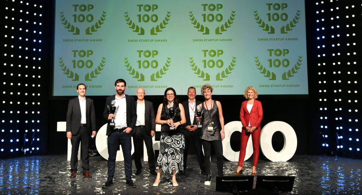 Cutiss leads the ranking of the Top 100 Swiss Startup Award