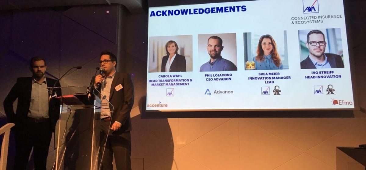 Advanon at EFMA award ceremony