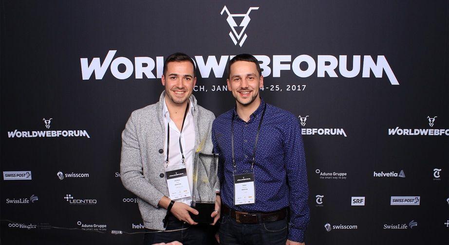 Christian Naef (CMSO) und Gianni Di Iorio (CFO), Advertima