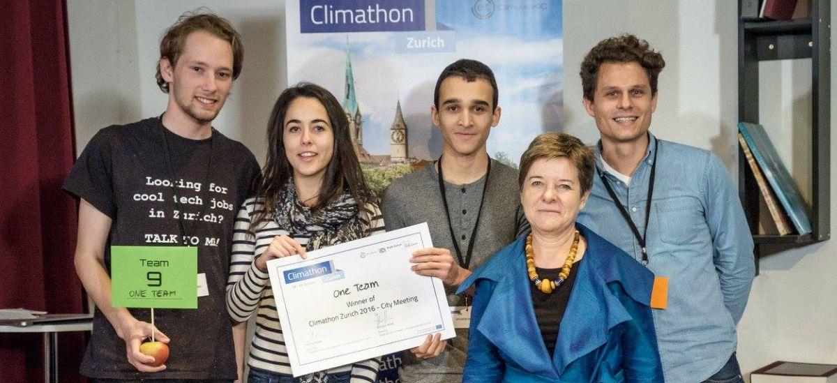 Winner Climathon 2016