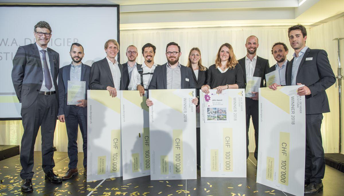 De Vigier Winners 2018