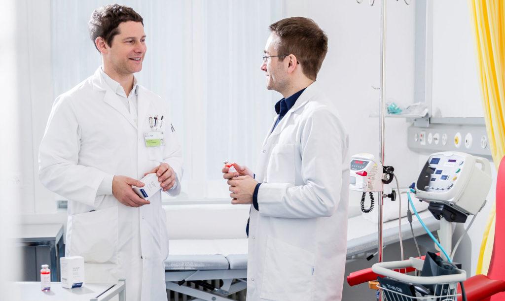 Klinischer Test am Kantonsspital St. Gallen