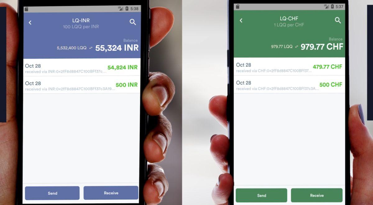 Liquineq Payment app