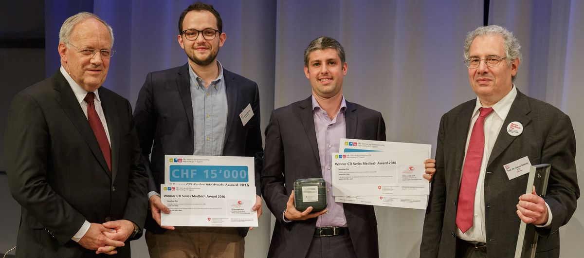Award ceremony CTI medtech award