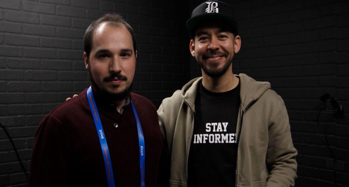 Javier Bello Ruiz and Mike Shinoda