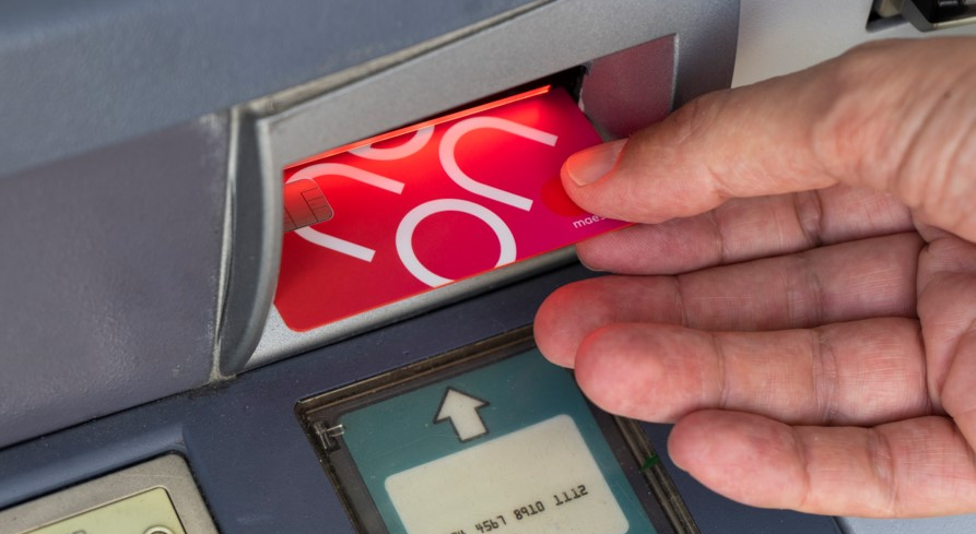 neon Bankkarte