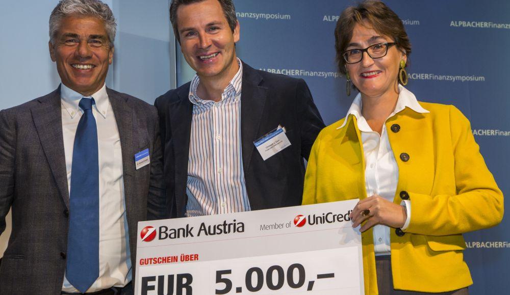 Hannes Enthofer, Christoph J. Gum (Private Alpha), Susanne Wendler.
