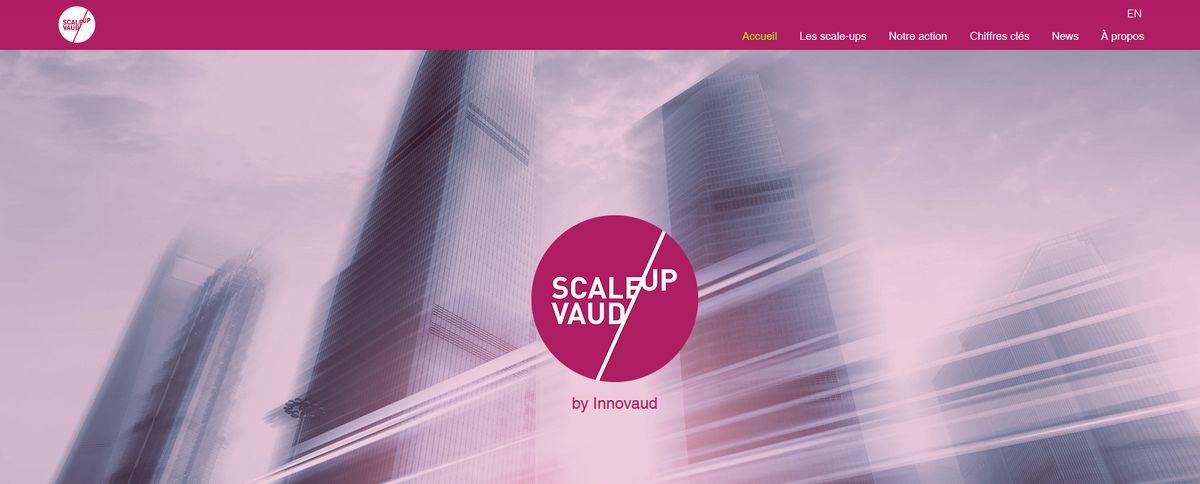 Screenshot Scale up Vaud