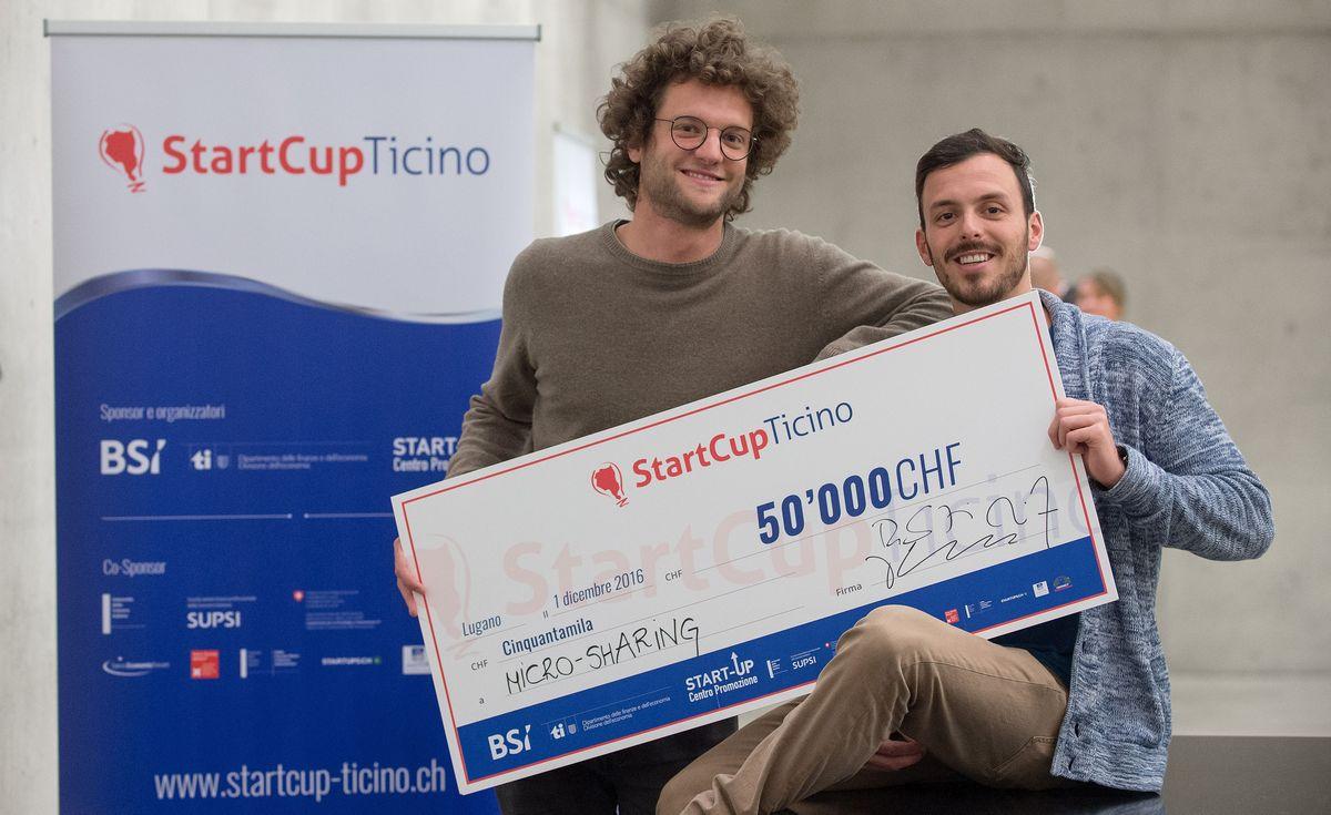 Startcup winners