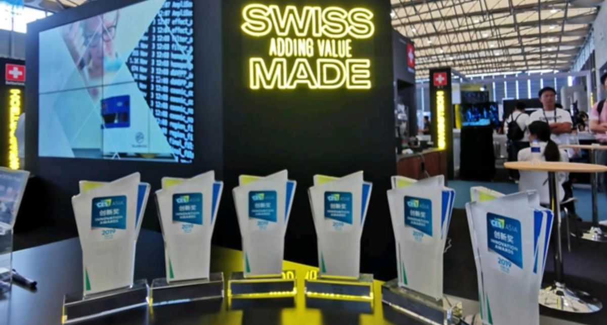 #Swisstech Pavillion at CES Asia 2020: booths for 24 startups