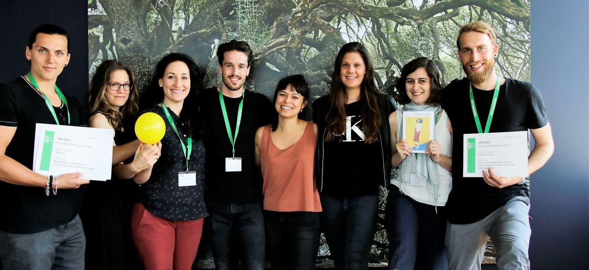 Winners of the UZH innovators Camp