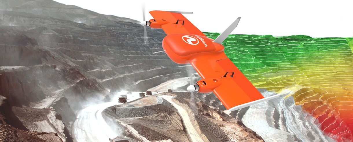 Wingtra Drohne