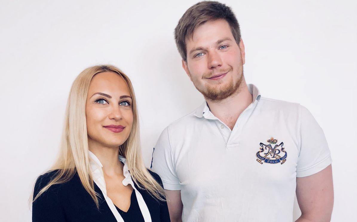 Luiza Dobra and Marc Borntäger
